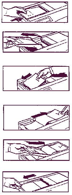 Загрузка бумаги в принтер Sonicaid Team