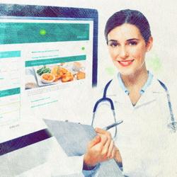Медицинский веб сайт