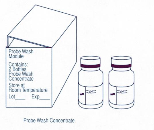 Модуль с жидкостью для промывки дозатора