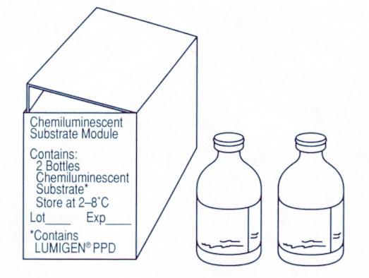 Модуль хемилюминесцентного субстрата