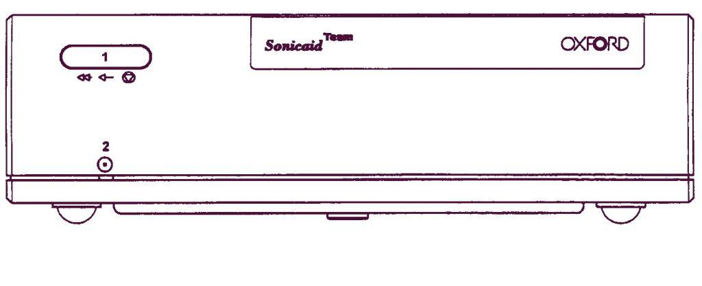 Печатный блок Sonicaid Team перед