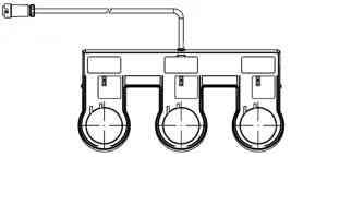 Проводной педальный выключатель  LOGIQ
