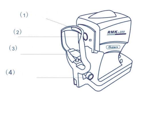 Рефрактометр вид сзади