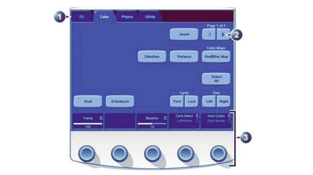 Сенсорная панель GE Vivid E9