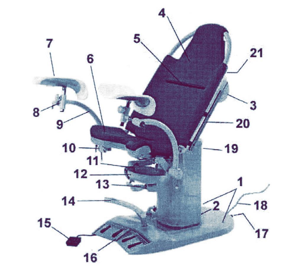Урологическое кресло
