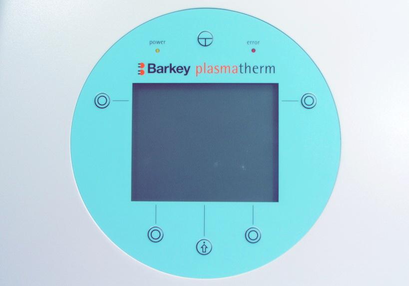 Barkey plasmatherm панель