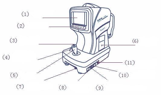 Рефрактометр RMK 200 вид спереди