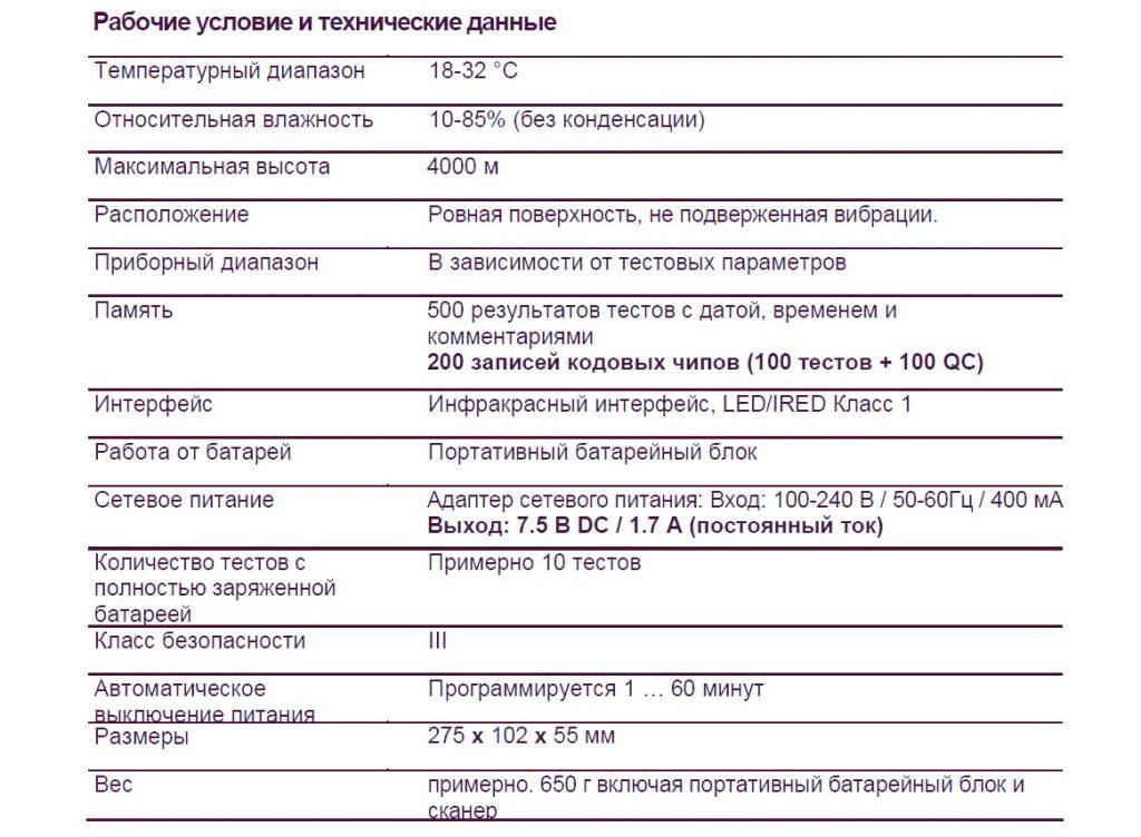 кобас h 232 характеристики