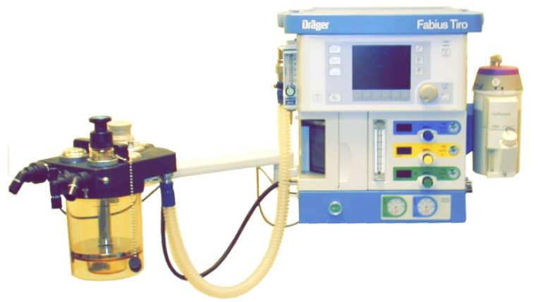 наркозный аппарат Fabius Tiro