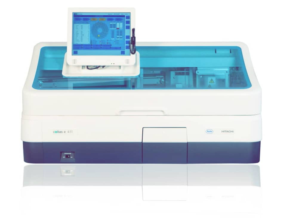 Сobas e 411 анализатор иммунохимический электрохемилюминесцентный
