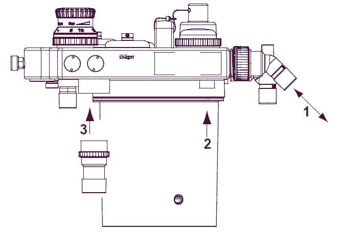 Установка датчика потока Fabius Tiro