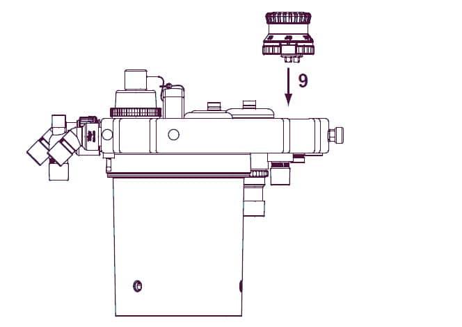 Установка клапана APL Fabius Tiro