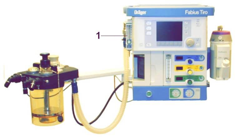 Вспомогательный измеритель потока кислорода